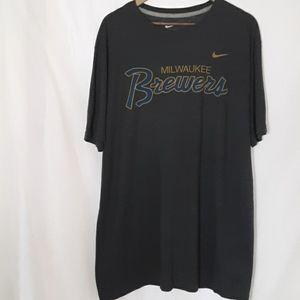 Nike Milwaukee Brewers short sleeve